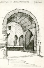 Herculaneum Arch